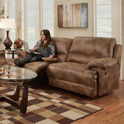 franklin reclining sofa franklin caswell double reclining two seat sofa with