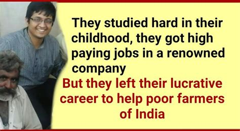 Most Lucrative Mba Career by Two Friends Left Their Lucrative Careers To Help Farmers
