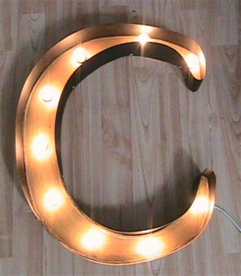 ersand light up sign sign letters marquee sign and letter c on pinterest