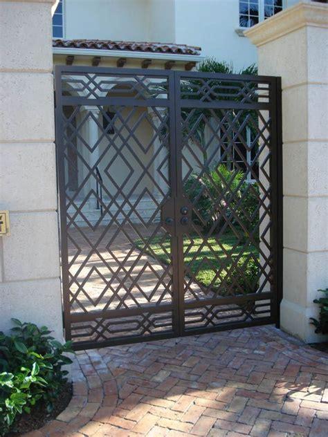 iron gates continental custom iron   iron gate