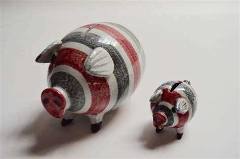 coin banks for sale pair of raymor piggy banks for sale at 1stdibs