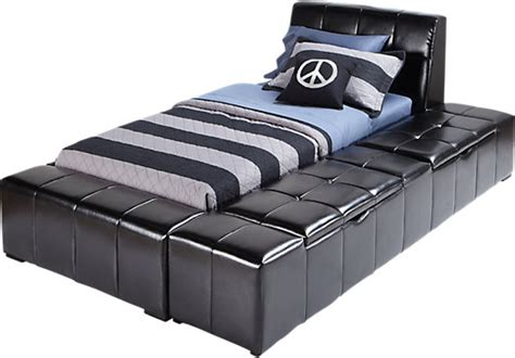 black twin bed with storage zoey black 4 pc twin storage bed twin beds colors
