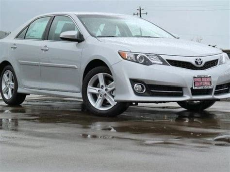 2014 Toyota Camry Silver Toyota Camry Se Silver Automatic Mitula Cars
