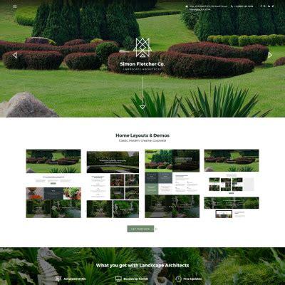 Design Templates Templatemonster Landscape Architecture Website Templates