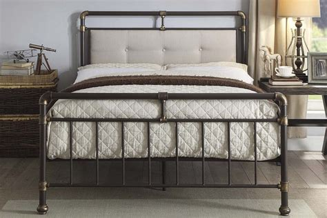 Oxford Industrial Scaffold Style Pipe Metal Bed Frame Style Bed Frames