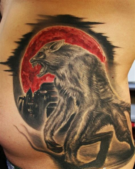werewolf tattoos tattoos designs ideas and meaning tattoos for you
