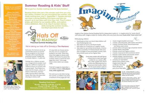 library newsletter template newsletter bulletin grimsby library on