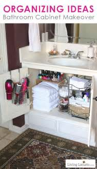Organizing ideas for your bathroom easy cabinet bathroom organization