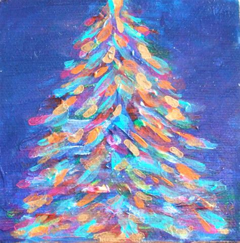bright lights of christmas painting by deb magelssen