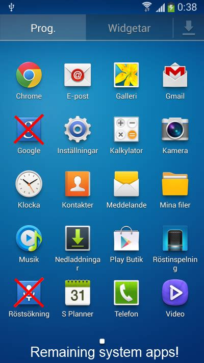 samsung apps apk s4 xda remove all the bloatware from your samsung galaxy s 4