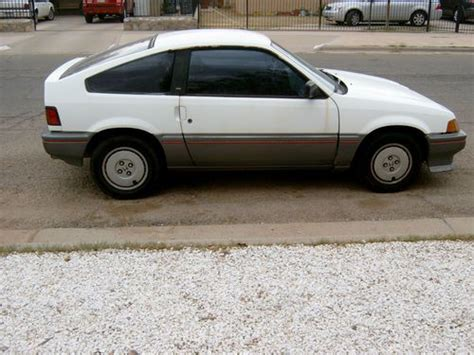 1987 honda civic mpg purchase used 1987 honda civic crx coupe 2 door 1 5 liter