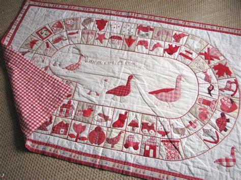 Patchwork And Applique - le jeu de l oie 187 tapis jeu enfants patchwork appliqu 233