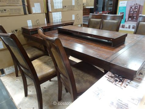 Bayside Xander Dining Room Set Surprising Dining Table Costco Pictures Inspirations Dievoon