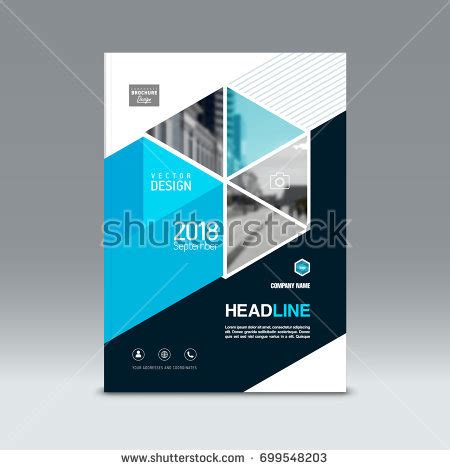 magazine layout design rates annual report cover flyer presentation brochure stock