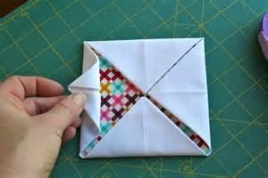 cathedral window tutorial quilt blocks