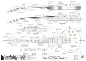 Solid Body Electric Guitar #15: Electronic Version Les