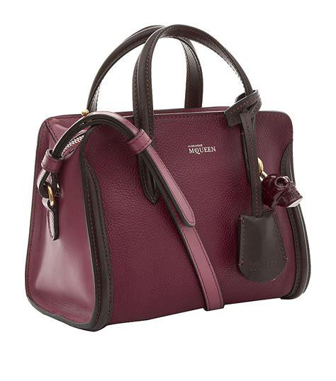 Ck Padlock Sling Mini lyst mcqueen mini bicolour padlock bag in purple