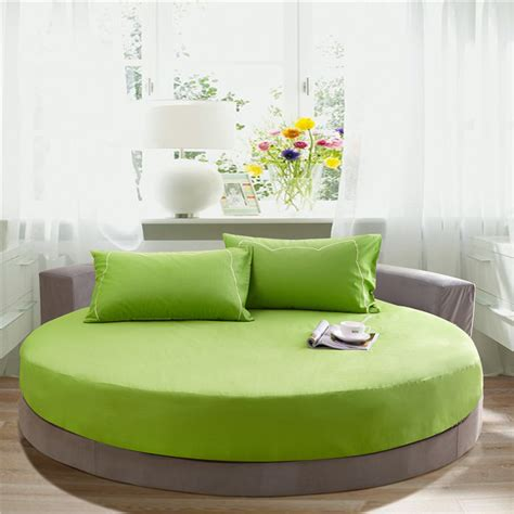 round bed sheets round bed mattress cover 200 200 220 220 cm solid color