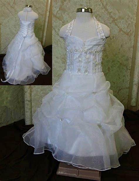 wedding dresses for 12 month flower