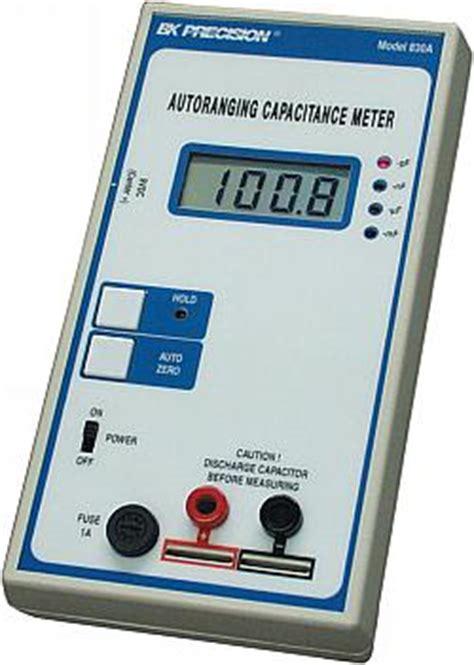 capacitor value meter b k autoranging capacitance meter electronics repair and technology news