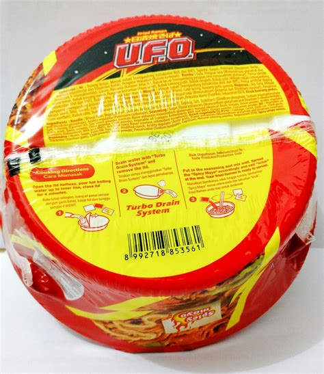 Ramen Ufo jual ufo fried ramen 3pcs ramen goreng rasa saus jepang 100gr goedlac