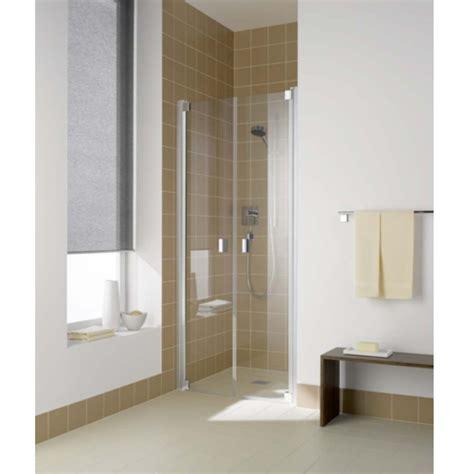 Kermi Shower Doors Kermi Raya Two Part Hinged Shower Door Silver Baker And Soars