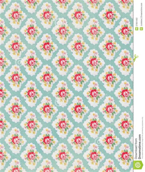 floral garden repeat pattern free vintage floral wallpaper repeat pattern stock image