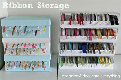 Curtain Rod Cover Ideas For Storing Ribbon Organize And Decorate Everything