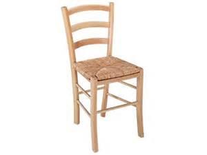 chaise en h 234 tre massif avec assise en paille paysanne