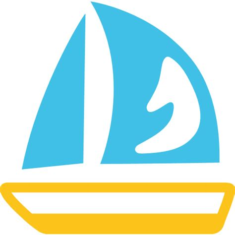 sailing boat emoji list of android travel places emojis for use as facebook