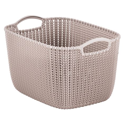 knit basket sand knit baskets the container store