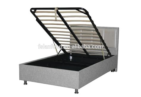 hydraulic bed frame 2016 new design hydraulic lift up storage bed frame for