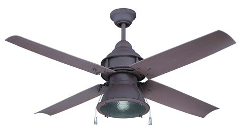 Iron Ceiling Fans by Craftmade Rustic Iron Ceiling Fan With Blades And Light Kit Rustic Iron Par52ri4 From Port Arbor