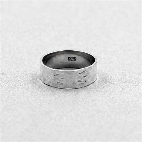 925 Silver Cross Ring antique cross 925 sterling silver band ring