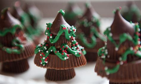 candy craft chocolate christmas trees made from reese s