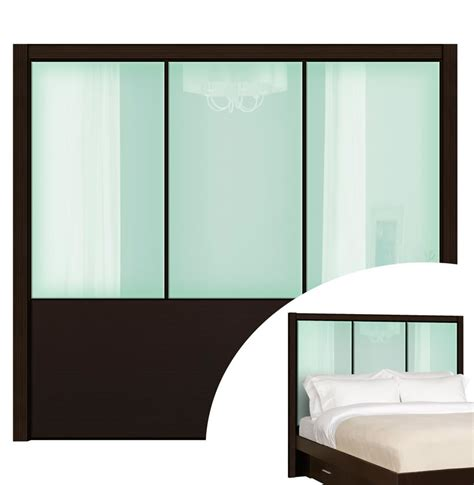 glass headboard queen headboard monte carlo headboard contempo space