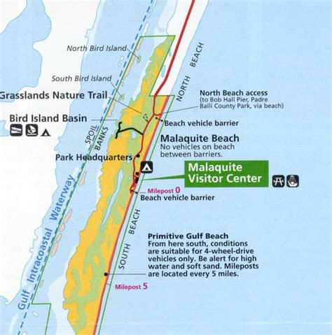 map of texas south padre island file padre island national seashore nps map jpg wikimedia commons