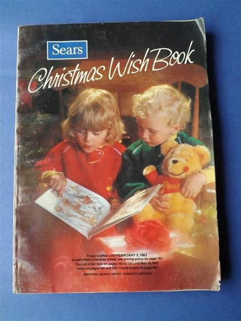 sears christmas catalogs on ebay simpsons sears canada vintage catalogue catalog wish book 1983 i am canadian