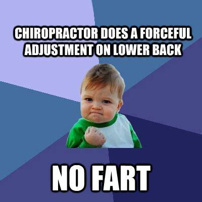 Chiropractor Meme - success kid memes quickmeme