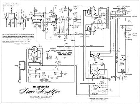 schematic marantz model 2 lifier slab