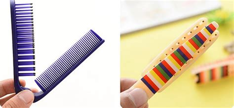 portable foldable magic comb sisir lipat