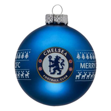 chelsea christmas baubles www unisportstore com
