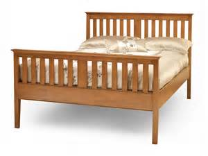 Cherry King Bed Frame Serene Grace King Size Cherry Bed Frame High Footend
