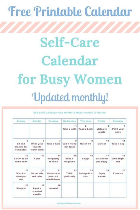 printable daily activity calendar 278 best healthy living for moms images on pinterest