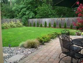 Simple Backyard Landscape Ideas Big And Simple Yard