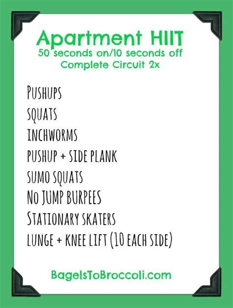 iset zaghouan foyer apartment circuit workout top workouts of 2015