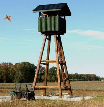 Bow Hunting Blind Plans Cc Partridge Patch Hunting Preserve