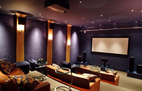 House Theatre by 35 Modern Media Room Designs That Will You Away
