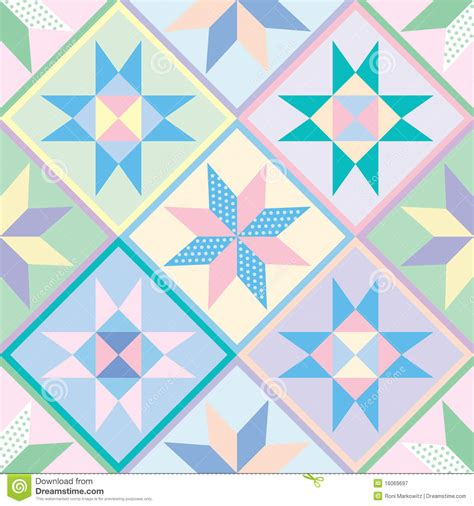 Patchwork Free Patterns - patchwork quilt seamless pattern royalty free stock