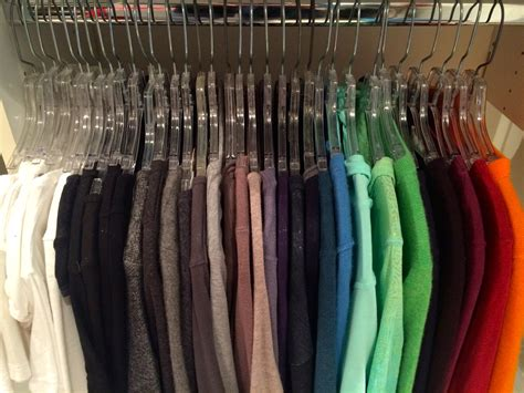 organizing shirts in closet how do i organize clothes by color organized closets
